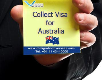 IMAGE Collect Visa for Australia