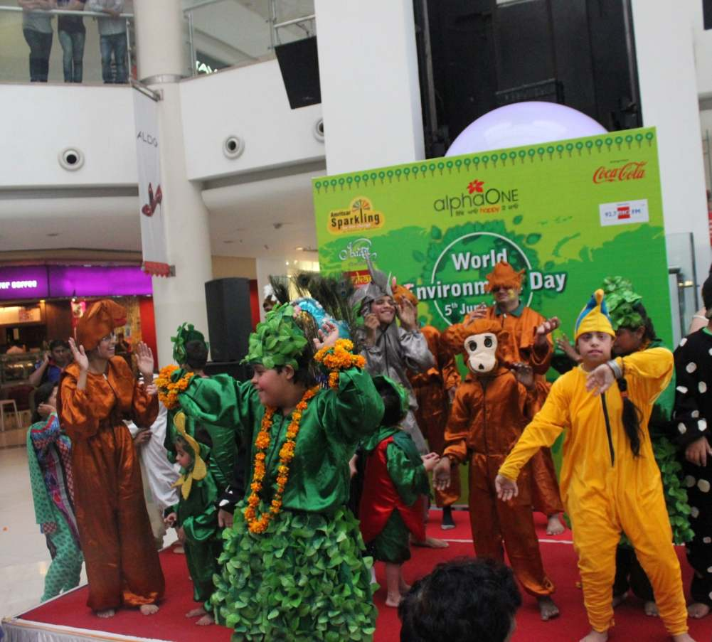 World Environment Day activities at AlphaOne