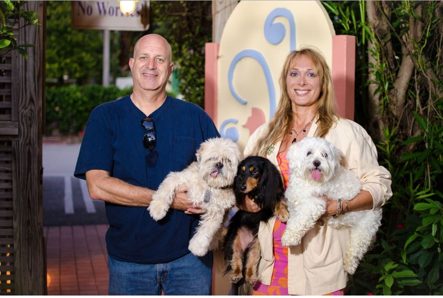 Mickey & Sandra Dezelan from Dezzy's Second Chance Animal Rescue & Adoption