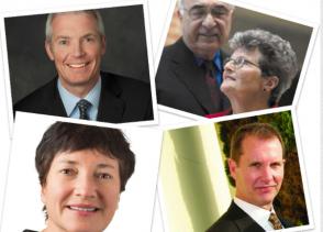 Dr. Riedel, Dr. Surmeier, Dr. Simuni, Judith Goldman