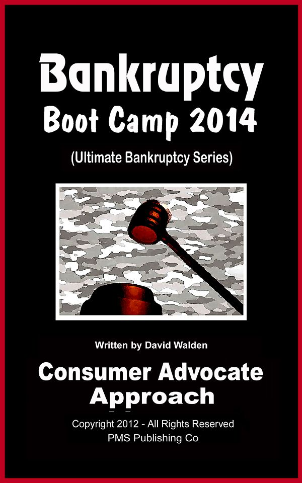 This is the only Pro-Consumer Book on filing Bankruptcy, Available Anywhere!
