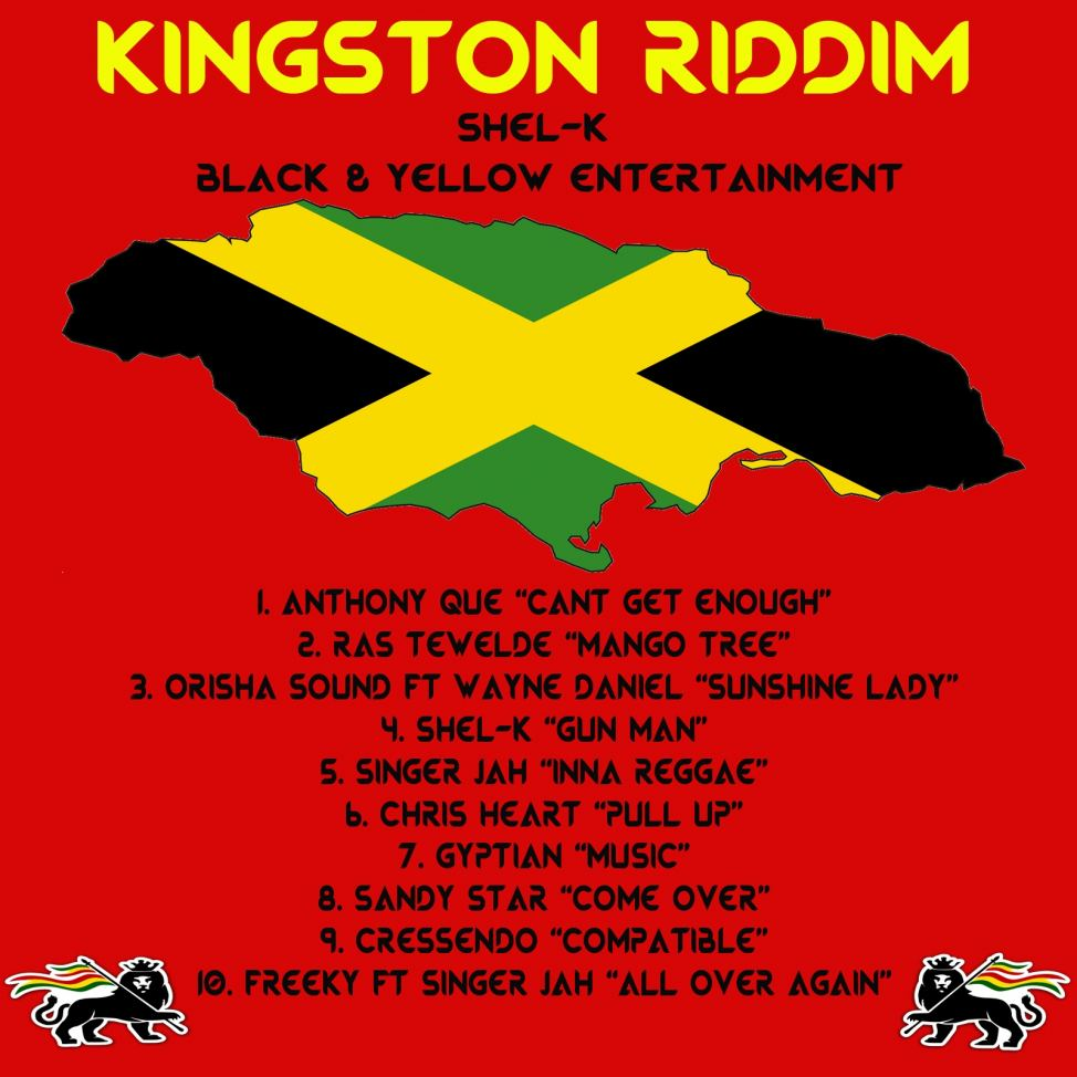 New classic out of Jamaica - Kingston Riddim -- Black and
