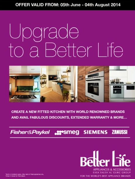 Better Life Fitted Appliances Campaign