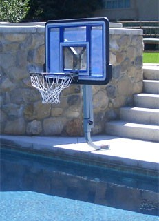 The Quick Fire Pool Basketball Hoop from Pure Health Online -- Pure ...
