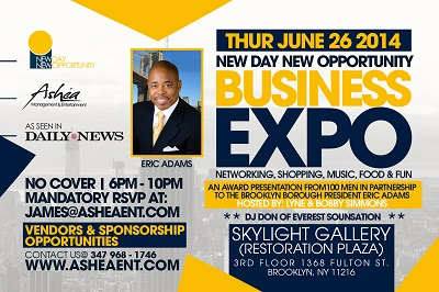 Business Expo- June 26-Skylight Gallery (Brooklyn, NY)