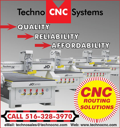 Techno CNC Routing Solutions New Products and Video