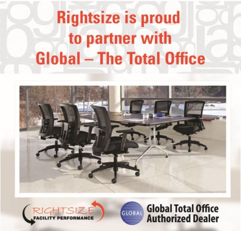Rightsize is proud to partner with Global - The Total Office