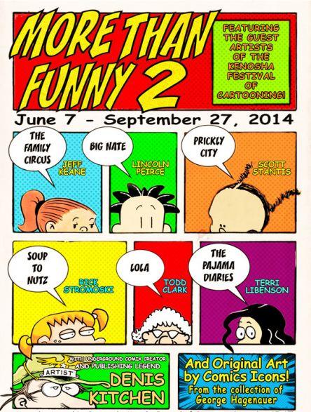 MoreThanFunny2_cartoon art show