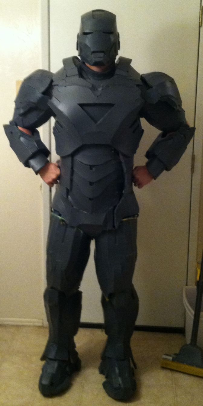 full suit in helmet - no gloves