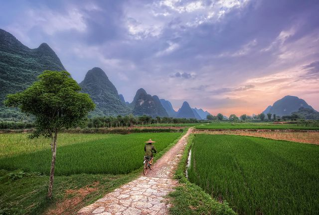 Karst Peaks of Guilin, China
