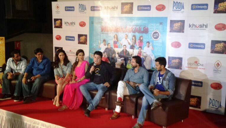 Team of Humshakal at Cinepolis