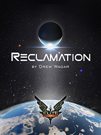 The cover of Elite: Reclamation designed by Heather Murphy