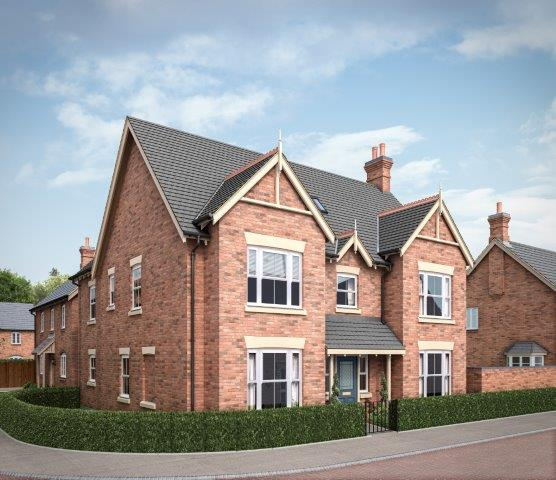 Artists impression of the new Snibston homestyle
