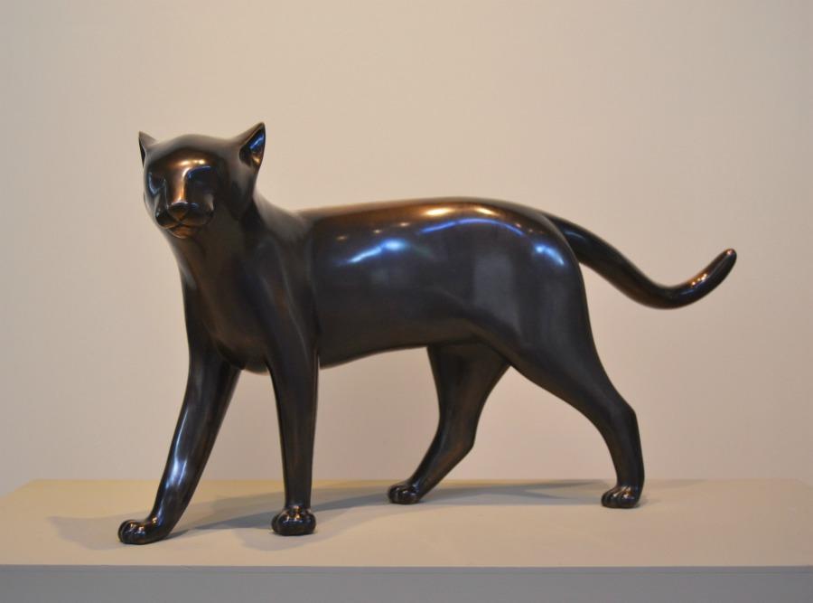 Gwynn Murrill, Abu, 2014 Bronze, exhibited at Morrison Gallery