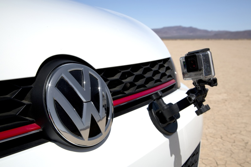 2015 Volkswagen GTI  With GoPro