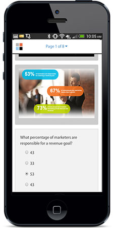 MobilePaks helps marketers create engaging content for sales enablement.