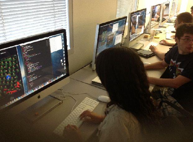 Woodbury University Student Development for iPad Game