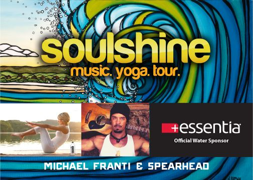 Essentia sponsors Soulshine featuring Michael Franti & Spearhead