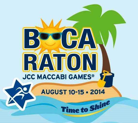 JCC Maccabi Games® will take place in Boca Raton Aug 10-15, 2014