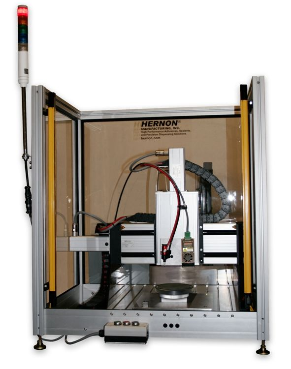 Hernon's Automated Industrial Dispensing Robot