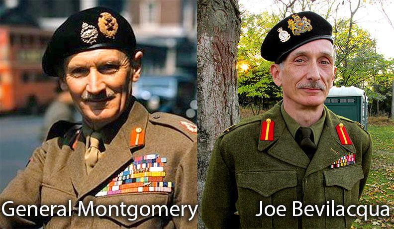 "Joe Bevilacqua portrays ""Monty"" for History Channel's The World Wars, June 22"