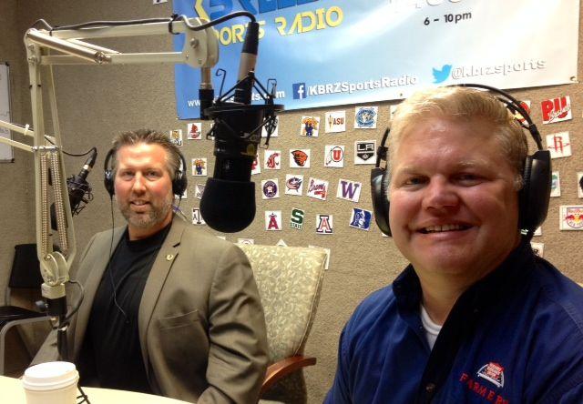 Bryan Kiser in Radio Station