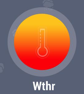 Wthr : Innovative World Weather Forecast & HD Radar