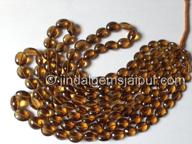 Cognac Quartz  Gemstone Beads Wholesale