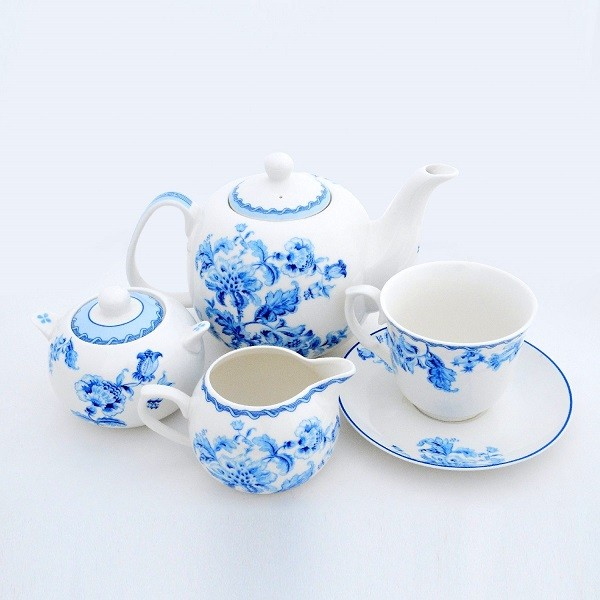 Morning Glory Tea Set