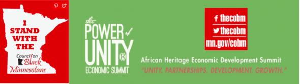 2014 Power of Unity Economic Summit - COBM
