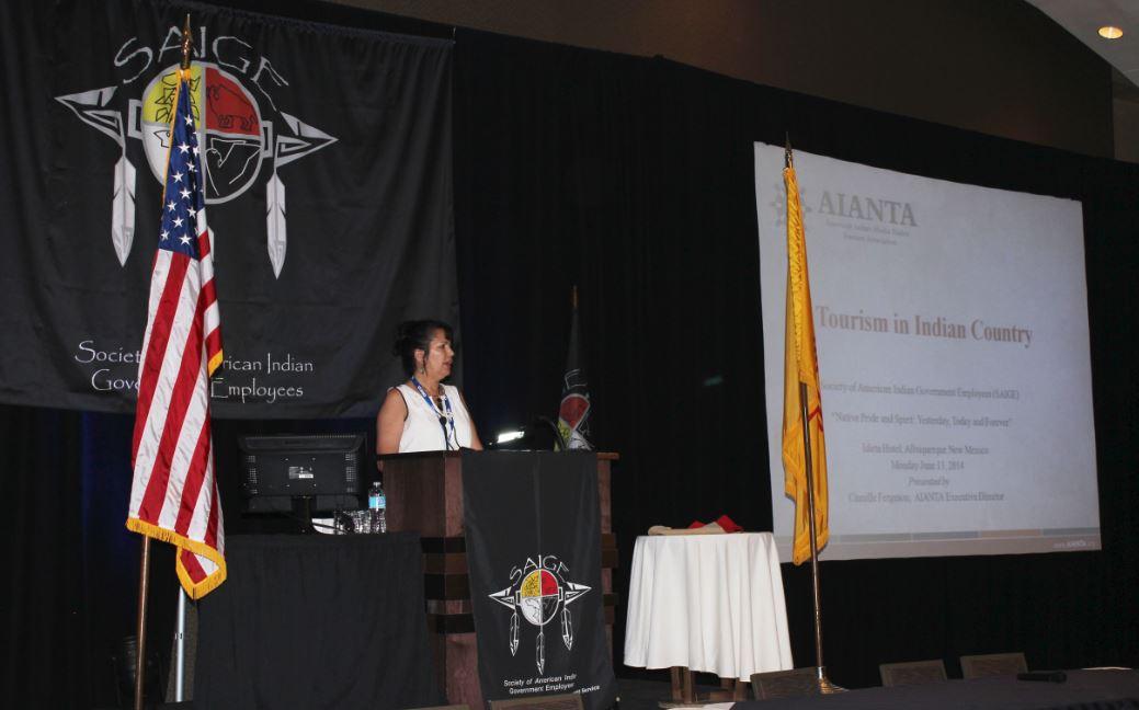 AIANTA Executive Director, Camille Ferguson [Photo Courtesy of AIANTA]