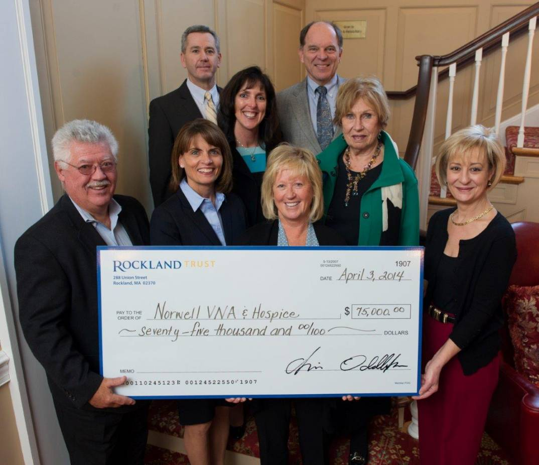 RocklandTrust supports The Pat Roche Hospice Home