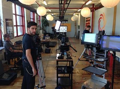 Cinematographer Jamieson Mulholland at Daufenbach Camera