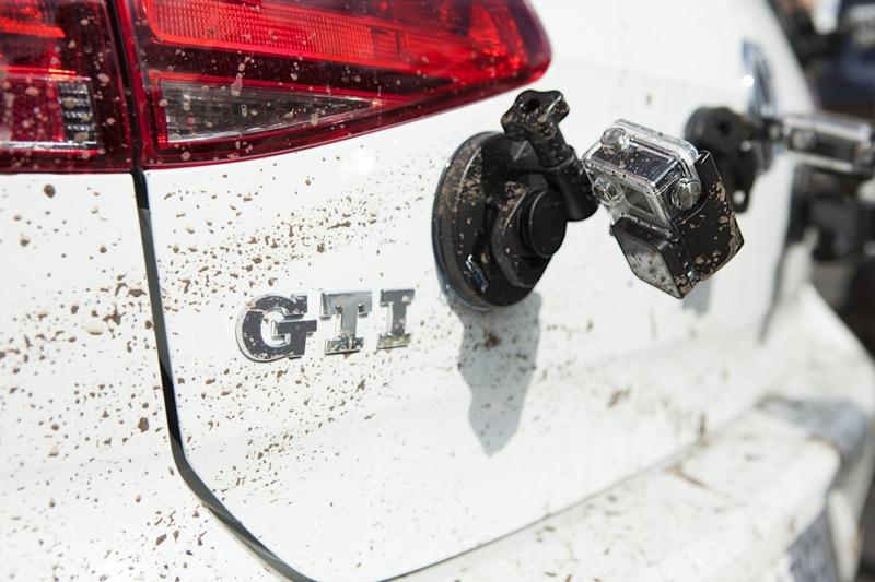 2015 Volkswagen GRI with GoPro attached