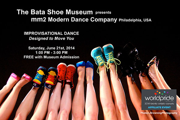 MM2 Modern Dance at The Bata Shoe Museum