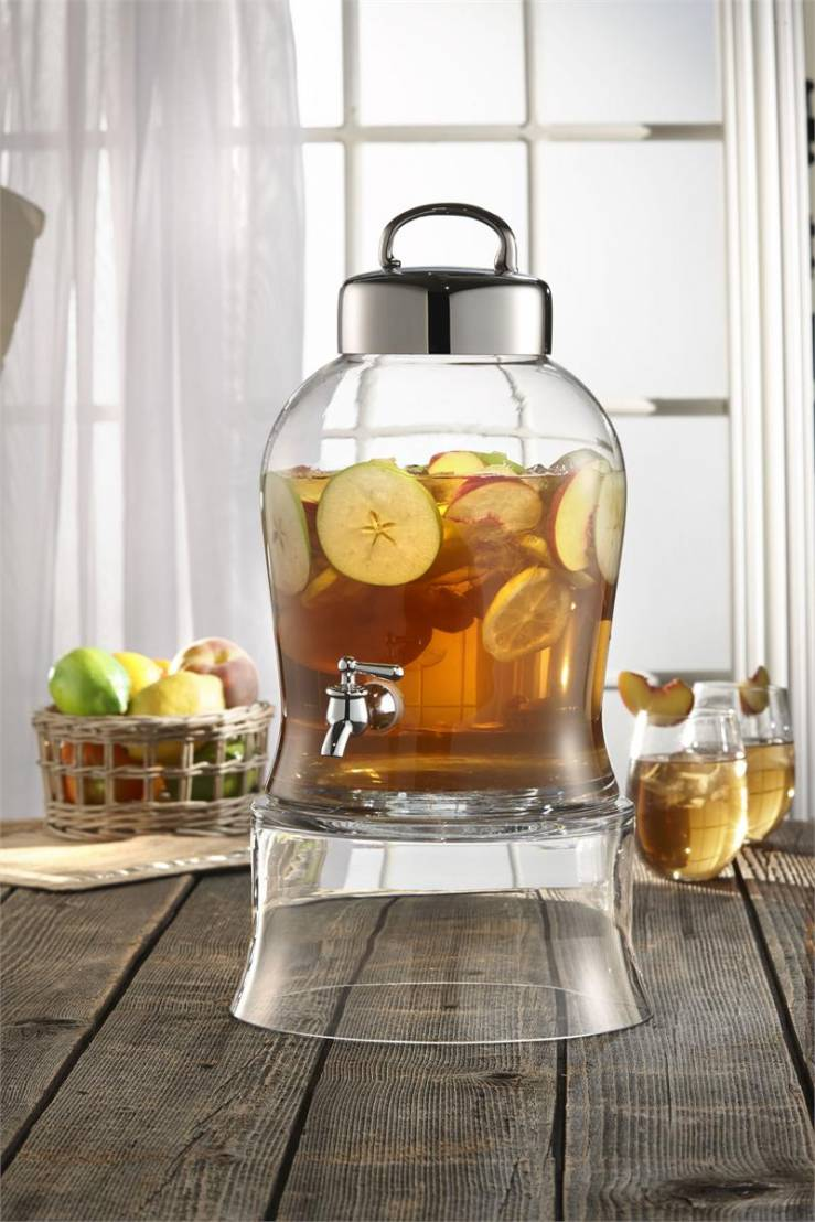 Classic Hostess Debuts Glass Drink Dispenser And Beverage