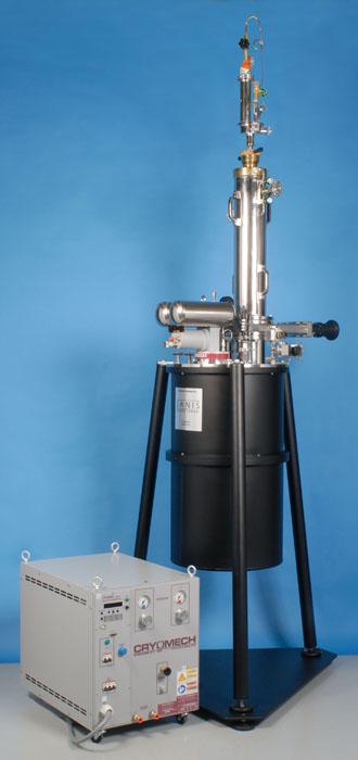 HE-3-TLSXGAS Cryogen Free Helium-3 Cryostat for Diamond Anvil Cell