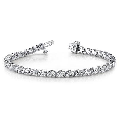 Curved-Links-Lab-Diamond-Tennis-Bracelet