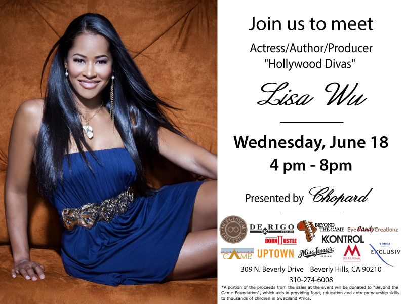 Lisa Wu Hosts Beverly Hills Event Presented by Cho