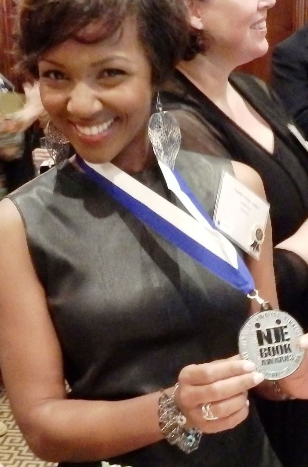 Tamika Christy and her Indie Award