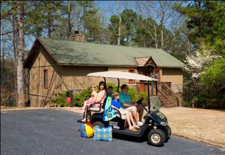 Island Carts Prove a Terrific Way to Explore Lake Lanier Islands Resort