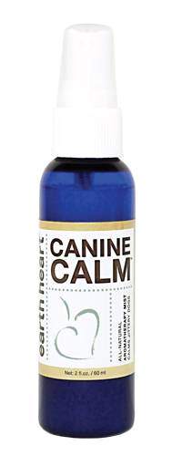 Canine Calm can safely calm dogs that startle during fireworks and other noises.