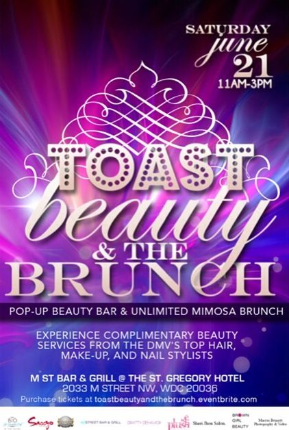 #TOASTBeautyBrunch Flyer
