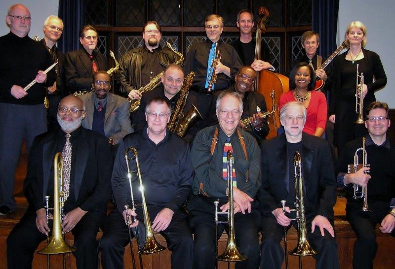 The Aardvark Jazz Orchestra, photo by Kate Matson