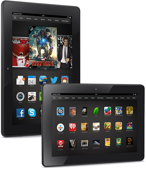 Kindle Fire HDX coupons