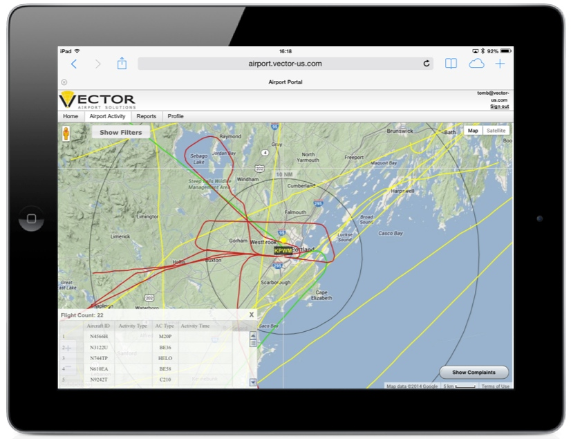 VNOMS by Vector Airport Solutions