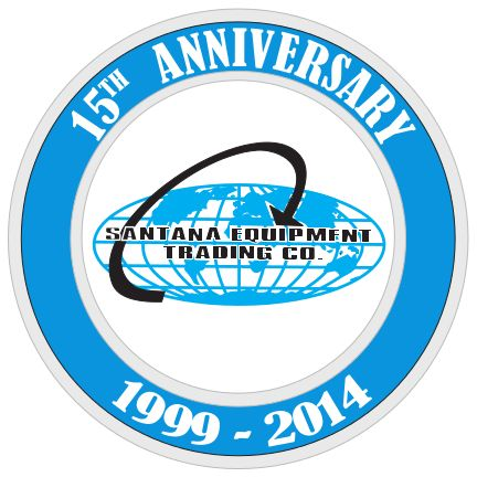 Santana Equipment 15th Anniversary Logo