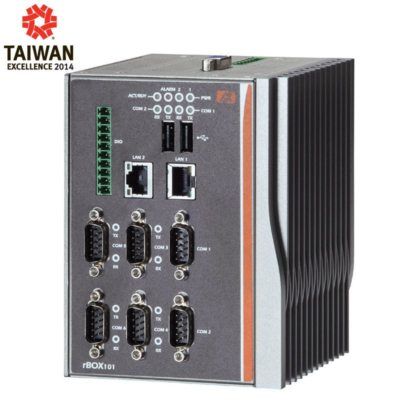 ATEX Anti-Explosive Certified Robust Din-rail Fanless Embedded System