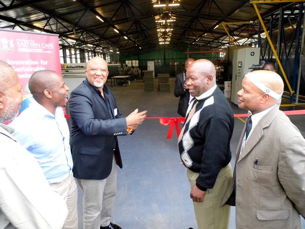 Ribbon cutting presided over by MEC Mcebisi Jonas