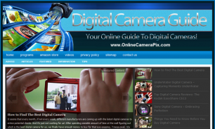 Online Camera Pix Offers digital photography resources www.onlinecamerapix.com